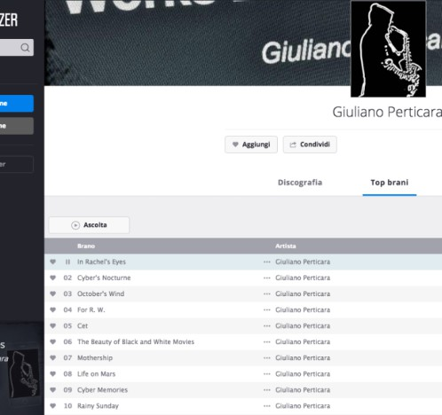 statistiche musica #2 - Giuliano Perticara blog