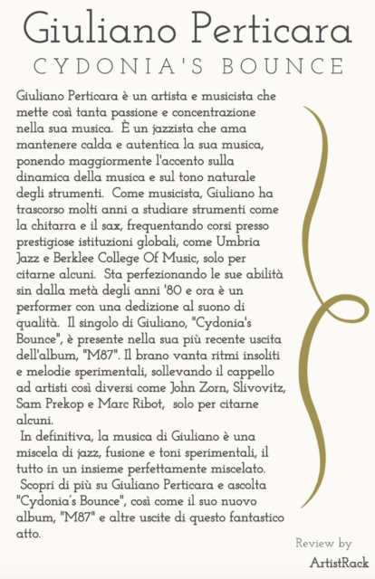 Giuliano Perticara blog - Review = Recensione