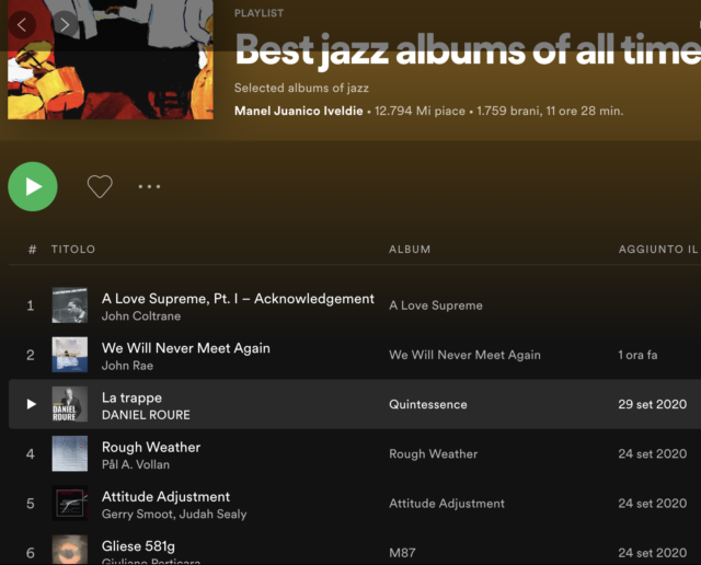 best jazz albums of all times